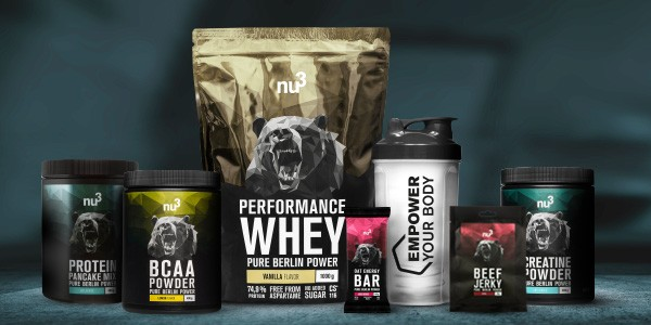 nu3 Performance Whey Kombinationen