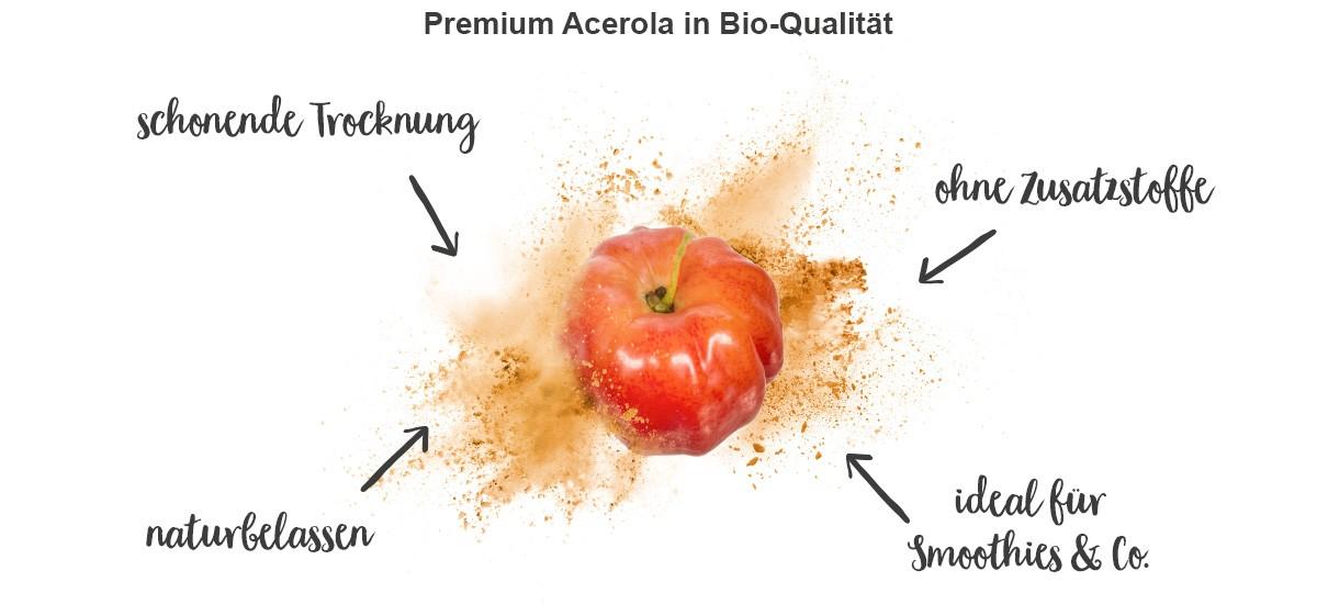 Acerola - Eigenschaften