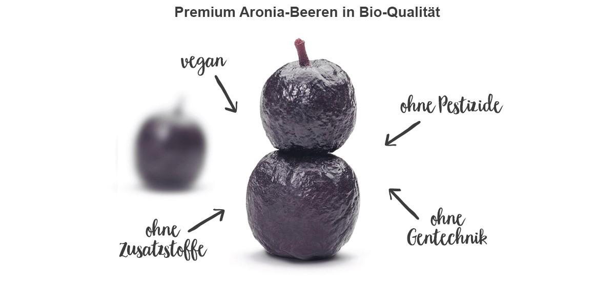 nu3 Bio Aronia Beeren - Eigenschaften