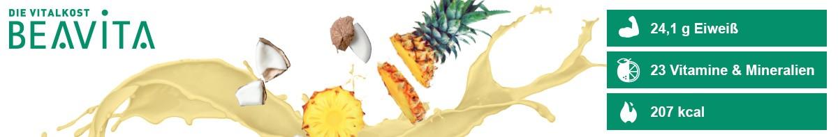 Beavita Vitalkost Kokos-Ananas Benefits