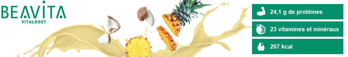 Beavita Vitalkost Coco-Ananas- Bienfaits