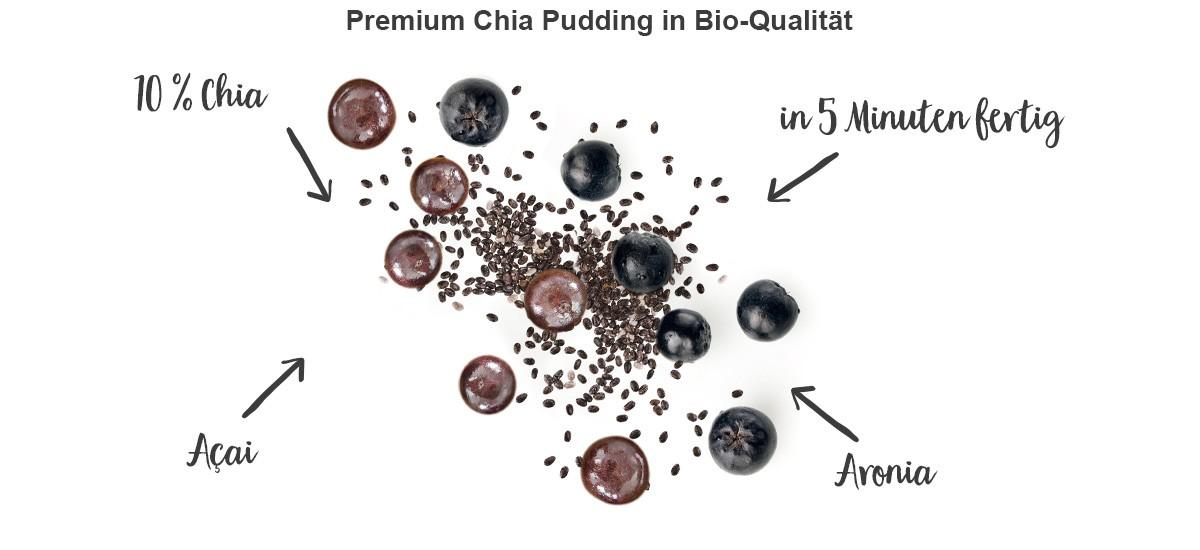 nu3 Bio Chia-Pudding Vanille - Eigenschaften