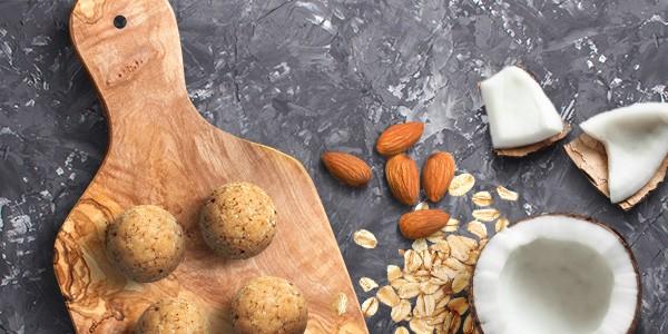 Zutaten Energy Balls Coconut Cookie-Dough