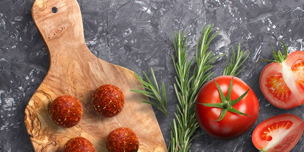 Zutaten Energy Balls Pizza