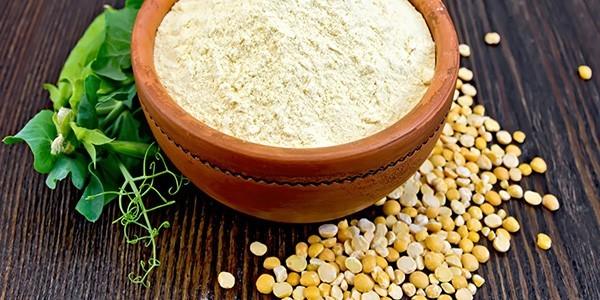 erbsenprotein-pulver