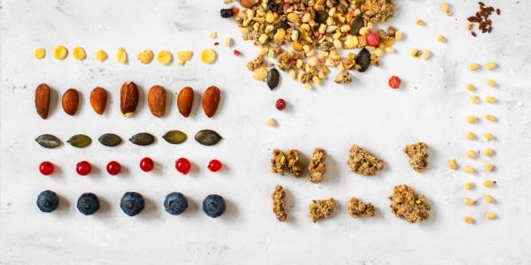 Fit Protein Müsli - Zutaten