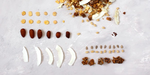 Fit Protein Muesli - Ingrédients