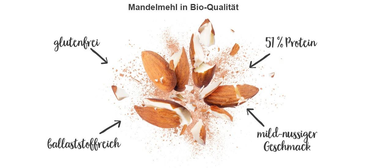 nu3 Bio Mandelmehl - Eigenschaften