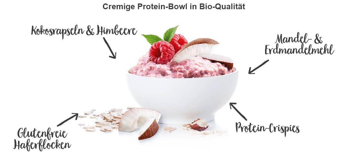nu3 Bio Protein Bowl, Himbeere-Kokos - Eigenschaften