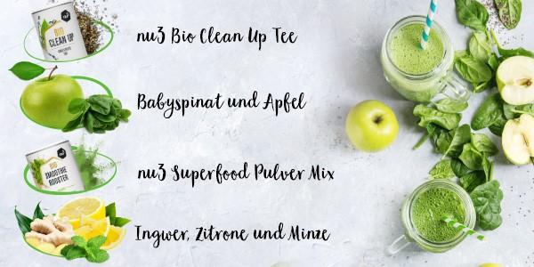 nu3 Bio Superfood Pulver Mix, Balance - Rezept