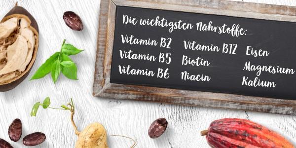 nu3 Bio Superfood Pulver Mix, Energy - Nährstoffe