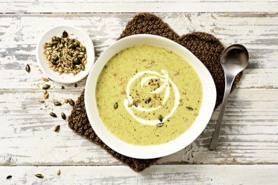 Broccoli Quinoa Soup