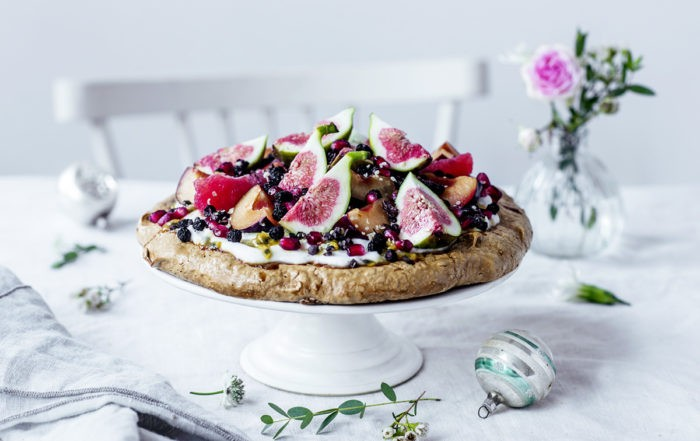 festliche superfood pavlova