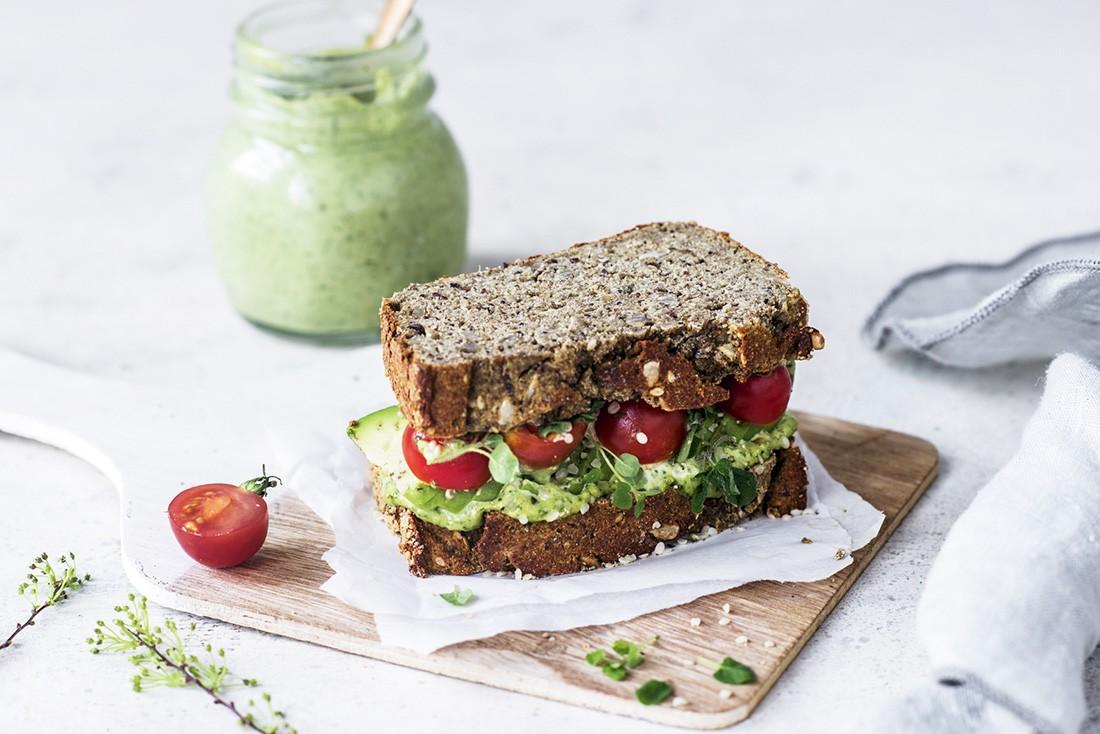 Protein Loaf aus Eiweissbrot