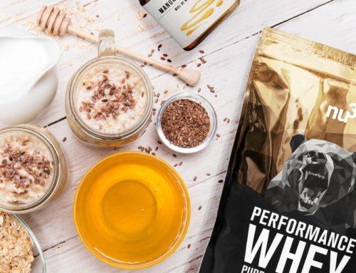 """Protein-Shake """"Milky Whey"""" für mehr Power"""