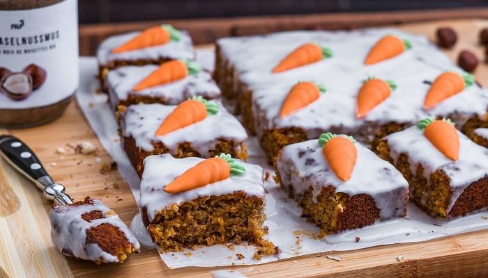 recette de carrot cake traditionnel et sans sucre nu3 kitchen. Black Bedroom Furniture Sets. Home Design Ideas